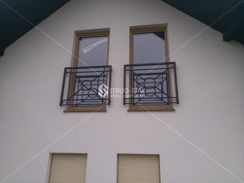 Ogromny Balustrady nowoczesne: balkonowe i schodowe - Rzeszów,Tyczyn HG28